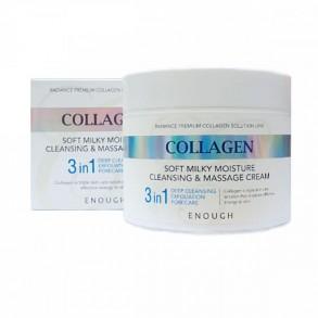 Enough Collagen Soft Milky Moisture Cleansing & Massage Cream