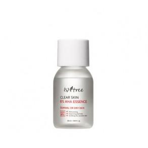 Миниатюра эссенции обновляющей с АНА кислотой Isntree Clear Skin 8% AHA Essence