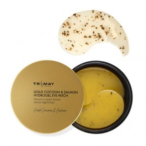 Trimay Gold Cocoon Salmon Hydrogel Eye Patch