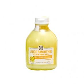 Тонизирующий гель для душа с цитрусовыми экстрактами Happy Bath Juice Smoothie Yellow Body Wash