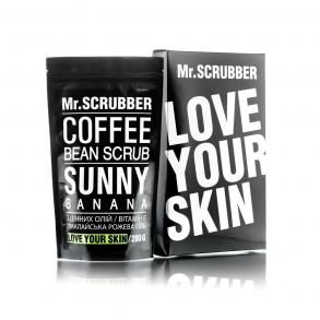 Кофейный скраб для лица и тела Mr.Scrubber Sunny Banana Scrub