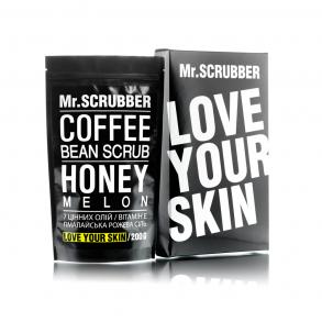 Кофейный скраб для тела и лица Mr.Scrubber Honey Melon