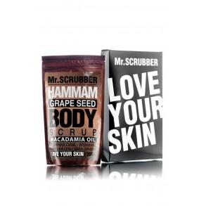 Скраб для тела Mr.Scrubber Grape Seed Body Scrub Hammam Macadamia Oil