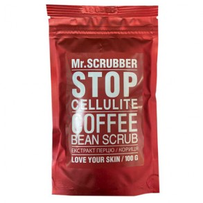 Антицелюлитний скраб для тела Mr.Scrubber Stop Cellulite Coffee Bean Scrub 100g