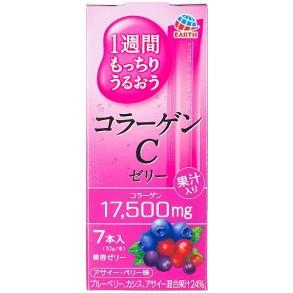 Питьевой коллаген в форме желе со вкусом лесных ягод Earth Placenta C Jelly Berry 70g