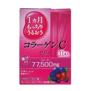 Питьевой коллаген в форме желе со вкусом лесных ягод Earth Placenta C Jelly Berry 310g