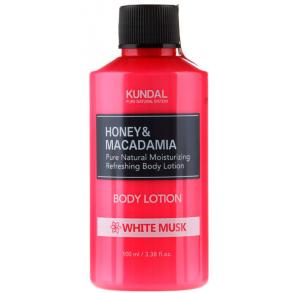 Лосьон для тела Белый мускус Kundal Honey & Macadamia White Musk Body Lotion 100ml