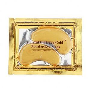 Патчи под глаза (Золотые) Elit-Lab Crystal Collagen Gold Powder Eye Mask