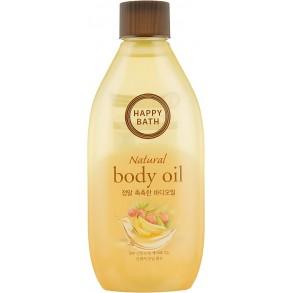 Увлажняющее масло для тела Happy Bath Natural Body Oil Real Moisture