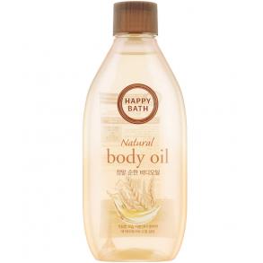 Питательное масло для тела Happy Bath Natural Body Oil Real Mild