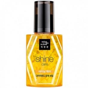Сыворотка для блеска волос с алмазной пудрой Mise en Scene Shine Care Diamond Oil