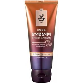 Укрепляющая маска против выпадение волос Ryo Hair Loss Care Deep Root Strength Treatment 300ml