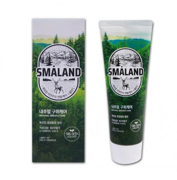 Корейская премиум зубная паста Освежающая мята Kerasys Smaland Forest Fresh Mint
