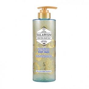 Гель-скаб для тела с морской солью Aekyung Solarium Dead Sea Blue Salt Daily Body Scrub