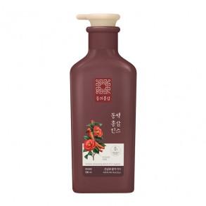 Кондиционер для сухих и поврежденных волос Aekyung KeraSys Dong Ui Hong Sam Camillia Red Ginseng Rinse