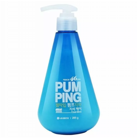 Зубная паста гигиеническая с ароматом мяты LG Household & Health Pum Ping Cool Mint