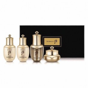 Набор восстанавливающих миниатюр The History of Whoo Cheonyuldan Ultimate Regenerating Gift Set (4 items)