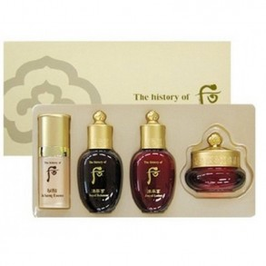 Набор миниатюр для борьбы с возрастными изменениями кожи The History of Whoo Ja Saeng Essence Special Gift Set (4 items)