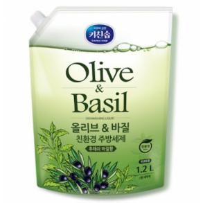 Mukunghwa Kitchen Soap Olive&Basil Dishwashing Detergent