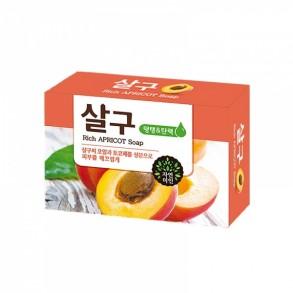 Мыло для умывания с маслом абрикосовых косточек Mukunghwa Rich Apricot Soap