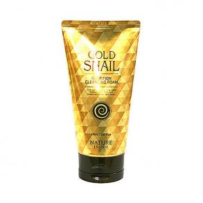 Пенка для умывания с экстрактом улитки Welcos Kwailnara Gold Snail Nutrition Cleansing Foam