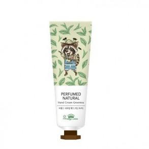 Крем для рук с экстрактом зеленого чая Pretty Skin Perfumed Natural Hand Cream Green Tea