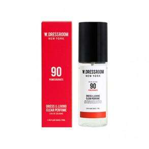 Парфюмированная вода для одежды и дома с ароматом граната W.Dressroom Dress & Living Clear Perfume No.90 Pomegranate