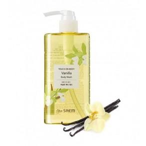 Слабокислотный гель для душа с экстрактом ванили The Saem Touch On Body Body Wash Vanilla