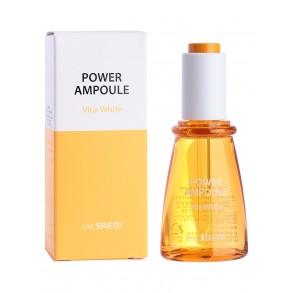 Осветляющая витаминная сыворотка The Saem Power Ampoule Vita-White