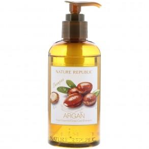 Увлажняющий шампунь для волос Nature Republic Argan Essential Deep Care Hair Shampoo