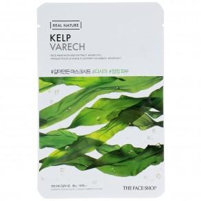 Тканева маска с экстрактом ламинарии The Face Shop Real Nature Kelp Face Mask