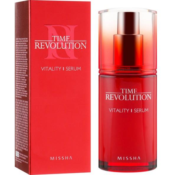 Антивозрастная сыворотка для лица Missha Time Revolution Vitality Serum