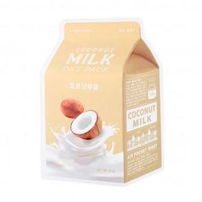 Маска тканевая с протеинами молока и экстрактом кокоса A'pieu Coconut Milk One-Pack