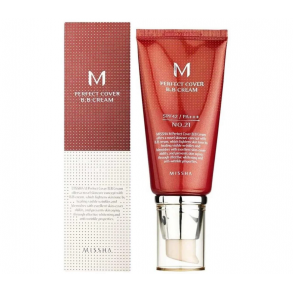 ББ-крем Missha M Perfect Cover BB Cream SPF42/PA ++ №21 (Light Beige)