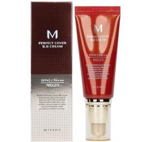 ББ-крем Missha M Perfect Cover BB Cream SPF42/PA ++ №23 (Natural Beige)