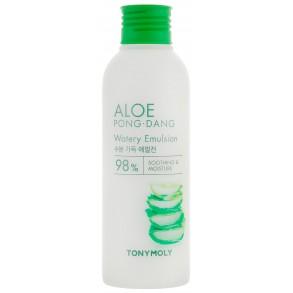 Увлажняющая эмульсия с экстрактом алоэ вера Tony Moly Aloe Pong Dang Watery Emulsion