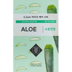 Ультратонкая маска для лица с экстрактом алоэ Etude House Therapy Air Mask Aloe