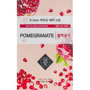 Тканевая маска для лица с экстрактом граната Etude House Therapy Air Mask Pomegranate