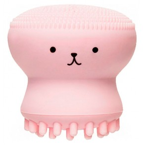 Силиконовая щеточка для очищения пор Etude House My Beauty Tool Exfoliating Jellyfish Silicone Brush