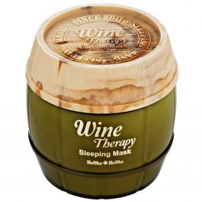 Ночная маска маска-желе с экстрактом белого вина Holika Holika Wine Therapy Sleeping Mask White Wine