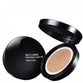 Солнцезащитный ВВ-крем Holika Holika Face 2 Change Photo Ready Cushion 23