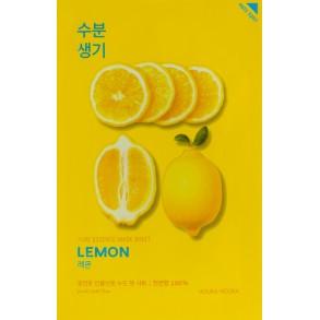 Осветляющая тканевая маска с экстрактом лимона Holika Holika Pure Essence Mask Sheet Lemon