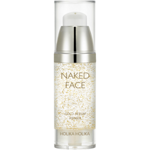 Праймер-сыворотка для сияния Holika Holika Naked Face Gold Serum Primer