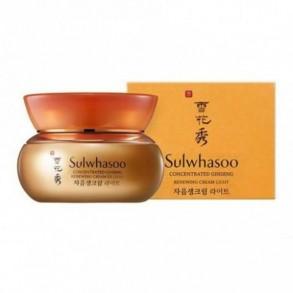 Высококонцентрированный обновляющий крем с корейским женьшенем Sulwhasoo Concentrated Ginseng Renewing Cream EX Light