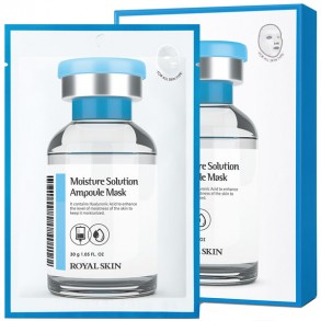 Royal Skin Moisture Solution Ampoule Mask