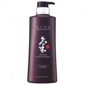Восстанавливающий шампунь для сухих волос Daeng Gi Meo Ri Ki Gold Premium Shampoo 500ml