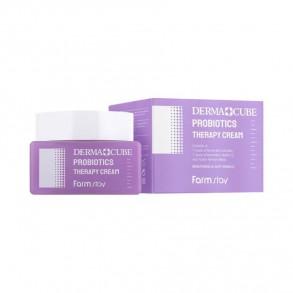 Антивозрастной крем с пробиотиками FarmStay Derma Cube Probiotics Therapy Cream
