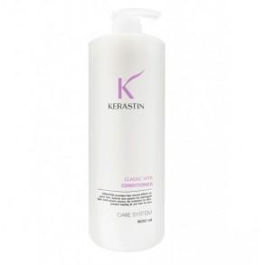 Протеиновый кондиционер для волос с экстрактом зеленого чая Kerastin Classic Vita Conditioner