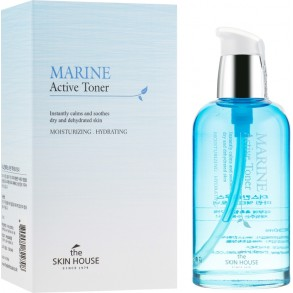 Тонер для лица с керамидами The Skin House Marine Active Toner