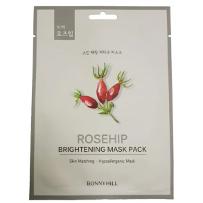 Тканевая маска с экстрактом шиповника Beauadd Bonnyhill Mask Pack Rosehip